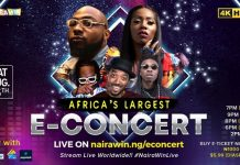 Davido, Tiwa Savage, Naira Marley and Mayorkun to perform in 4KHD at Africa's largest E-concert